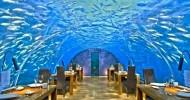 Подводный ресторан на Мальдивах (фото и видео)