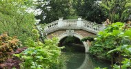 Парк Монсо в Париже, Франция
