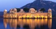 Дворец на воде в Индии