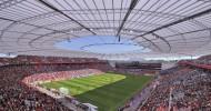 Стадион Бай Арена, Германия — ФОТО.