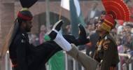 Граница Индия-Пакистан (видео)