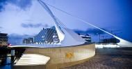 Мост Сэмюэла Беккета: история моста и фото