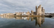 Замок Карнарвон, Уэльс — ФОТО.