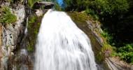 Водопад Корбу, Россия.