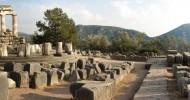 Город Дельфы в Греции фото и история