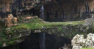 Водопад Баатара (Пещера трех мостов), Ливан