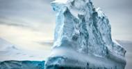 Озеро Восток, спрятанное подо льдом