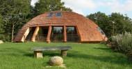"""Вращающийся экологичный дом """"Domespace"""""""