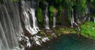 Необычный водопад Японии —  Шираито