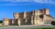 Замок Кока, Испания.