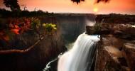 Самый широкий водопад в мире