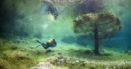 Grüner See — подводный мир в Австрии