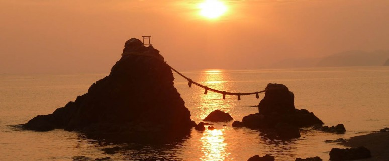 Meoto-Iwa-of-Futami-Okitama-Jinja-Japan