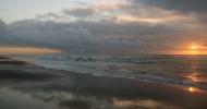 Пляж Оушен-Бич в Сан-Франциско, США.