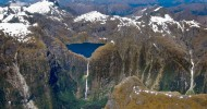 Самые красивые водопады Новой Зеландии.