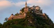 Замок Гохостервитц в Австрии, фото замка