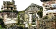 Церковь, застывшая в лаве