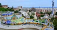 Творения Гауди: Парк Гуэля (Барселона). 26 фото