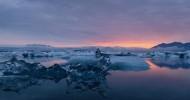Ледниковое озеро Йокульсарлон в Исландии (25 фото)