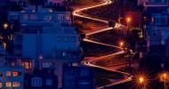 Ломбард-стрит — красивая улица в Сан-Франциско, США