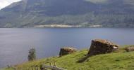 Озеро Хорниндальсватнет в Норвегии — ФОТО.