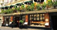 Кафе Прокоп в Париже, Франция.