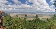 Древнейший вулкан Нгоронгоро