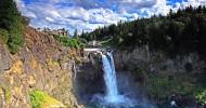 Водопад Сноквалми фото