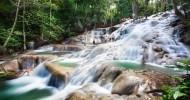 Водопады Даннс-Ривер, Ямайка.