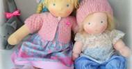 Вальдорфские куклы (30 фото)