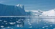 Фьорд Илулиссат на острове Гренландия, Дания.