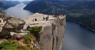 Норвежский Прекестулен