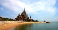 Деревянный Храм истины в Паттайе, Таиланд (25 фото)
