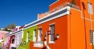 Цветные дома в Африке