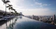 Роскошный бассейн в Сингапуре