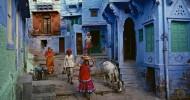 Голубые краски Джодпура