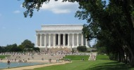 Мемориал Линкольна в Вашингтоне — ФОТО.