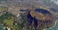 Вулканический конус Даймонд-Хед, США