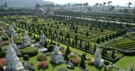 Тропический парк Нонг Нуч в Таиланде (27 фото)
