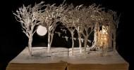 Сью Блэквелл и ее бумажные скульптуры (36 фото)