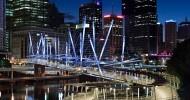 Мост Курилпа Бридж, Брисбен, Австралия