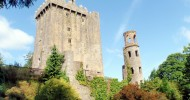 Замок Бларни, — камень красноречия, Ирландия