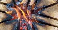 Как развести огонь. Способы разведения огня