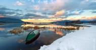 Живописное озеро Церкница — красивые места Словении