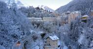 Бад-Гаштайн горнолыжный курорт в Австрии