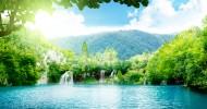 Национальный парк «Плитвицкие озера», Хорватия (14 фото)