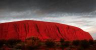 Улуру — красная гора в Австралии