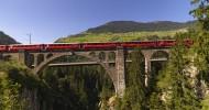Ретийская железная дорога (фотографии)