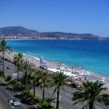 A picture of the beach from the Radisson Hotel.