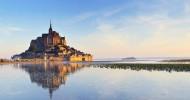 Мон-Сен-Мишель во Франции — ФОТО